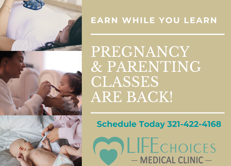 Pregnancy and Parenting Classes are Back!